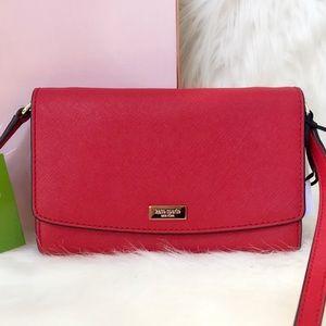 Kate Spade ♠️ NWT Red Crossbody Bag/Wallet